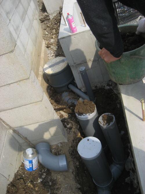 水道配水管北側埋設工事