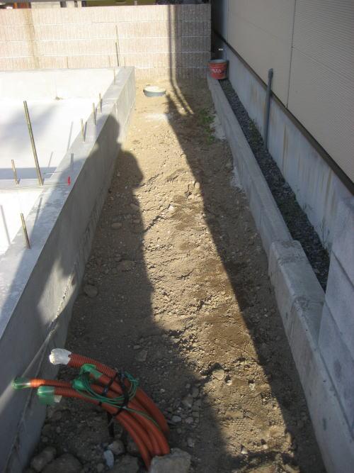 基礎外周部分埋め戻し工事