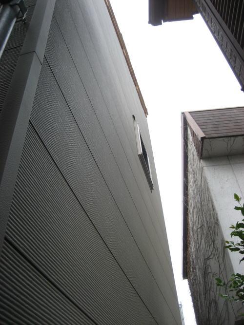 金属サイディング貼り(北側)