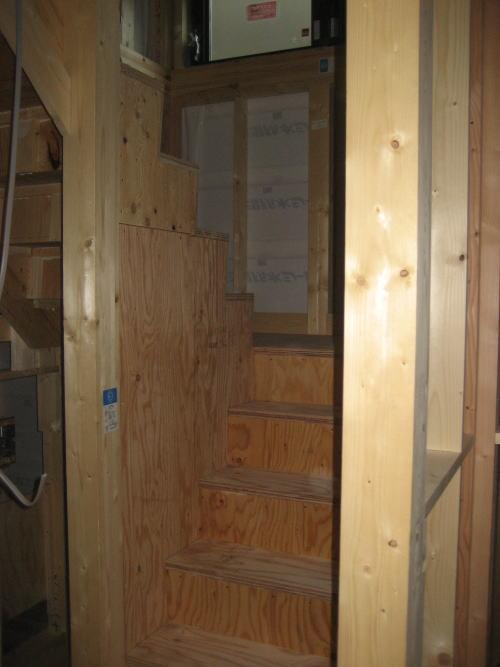 1~2F階段取り付け工事 完了後