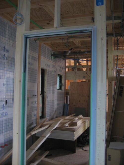 浴室入口枠取り付け工事