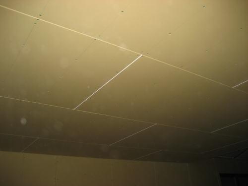 2F天井ボード貼り