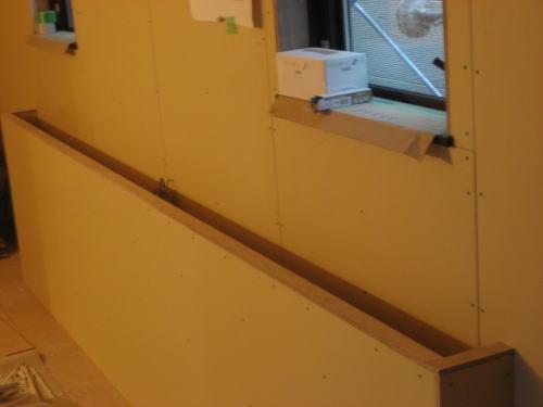2F寝室照明カウンター