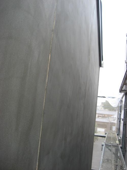 外壁上塗り工事