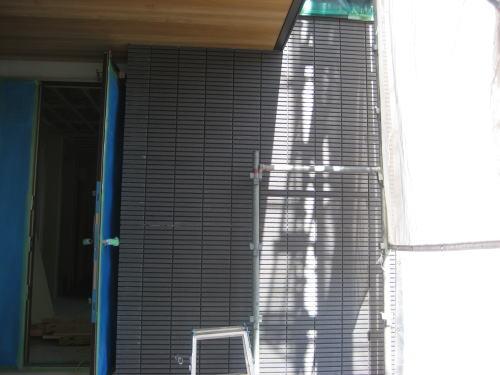 外壁タイル貼り工事