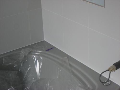 浴室コーキング工事